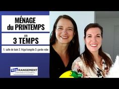 Ménage du printemps en 3 temps - YouTube Grand Menage, Becoming Minimalist, Deep Cleaning, Tips And Tricks, Spring, Food