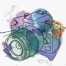 Resultado de imagen para dibujo de camara fotografica