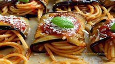 "Eggplant and spaghetti rolls ""Norma style"" - I Love Italian Food"