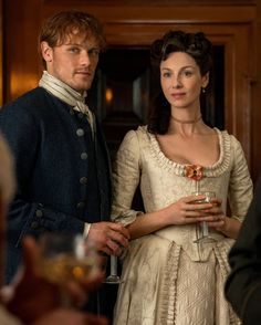 Jamie and Claire 💖 Outlander Season 4 Outlander Quotes, Outlander Book Series, Outlander Casting, Outlander Tv Series, Starz Outlander, Claire Fraser, Jamie And Claire, Jamie Fraser, Fraser Clan