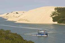 Sundays River Cruise Cruise in leisure along the Sundays River, spotting birds and local wildlife, before disembarking and tackling some of the dunes forming part of the largest coastal dune field in the Southern Hemisphere. Port Elizabeth South Africa, The Dunes, Rest Of The World, Countries Of The World, Sunrise, Cruise, Scenery, Journey, River