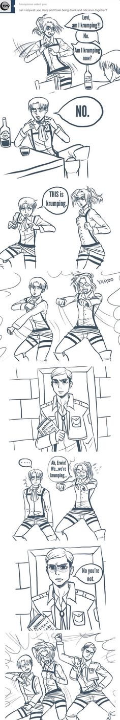 for a second I missed the bit where Erwin was drunk and thought he was doing this sober lol