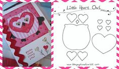 Valentine's Day Owl Template and Bulletin Board Idea Owl Bulletin Boards, Valentines Day Bulletin Board, Teacher Valentine, Valentine Crafts, Happy Valentines Day, Holiday Crafts, Holiday Activities, Valentine Ideas, Owl Classroom