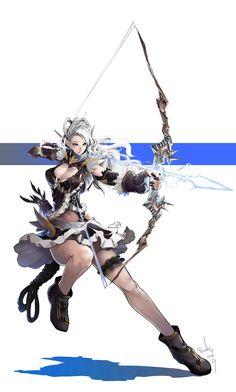 Ideas fantasy art inspiration artworks elves for 2019 Fantasy Female Warrior, Fantasy Women, Fantasy Girl, Female Art, Fantasy Character Design, Character Concept, Character Inspiration, Character Art, Anime Fantasy