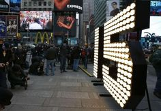 The New Year's Eve numerals stand lit on the sidewalk after they were unloaded from a truck in Times Square in New York, December REUTERS/Mike Segar Great Expectations, Banting, Living A Healthy Life, Resolutions, Get Healthy, Stay Fit, Over The Years, In This Moment, Motivation