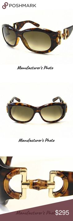 881c50d857d8 Authentic Gucci Tortoise Shell Havana Sunglasses Look better than ever with  these fashionable and contemporary Gucci