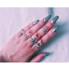 B M M &  N a i l s   @emma.nairn has an enviable BMM Collection! Tooth Sleep Tight Crypt Dolly & #LastChanceSaloon Tooth Midi Ring. Shop here  http://ift.tt/2oonkJ8 #bloodymarymetal #BmmClassics
