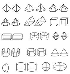 Find Geometric Shapes Vector stock images in HD and millions of other royalty-free stock photos, illustrations and vectors in the Shutterstock collection. 3d Drawing Tutorial, Form Drawing, Sketches Tutorial, Figure Drawing, Basic Drawing, Geometric Shapes Drawing, Geometric 3d, 3d Shapes, 3d Drawings