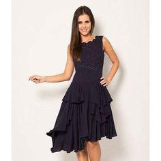 accb6ba8f62 Catalla Secret Garden Drape Dress New In - women s fashion Marine Kleid
