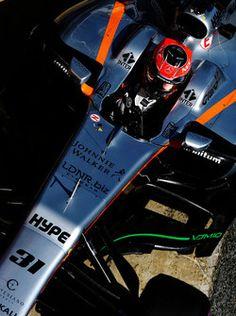 Esteban Ocon, Sahara Force India F1 VJM10  2017/03/07 para 2017/03/10  Circuit de Barcelona-Catalunya