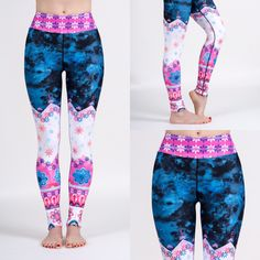 Wide band legging by Nalu Tribe