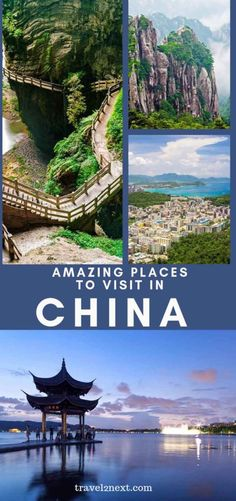 21 Incredible Places To Visit In China. The Great Wall is without doubt the most famous attraction in China. babies flight hotel restaurant destinations ideas tips Restaurants In Paris, In China, Largest Countries, Countries Of The World, Beautiful Places To Visit, Cool Places To Visit, Travel Photographie, Visit China, Thailand Travel Tips