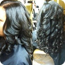 Flawless Sew-in: If I ever get one, I expect it to look like this.