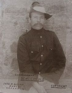 Anglo-Boer war - Commandant Gideon Scheepers surrendered 10 October he was executed 18 January He was born in the district of Middelburg, Mpumalanga. Native American Men, Armed Conflict, The Settlers, British Colonial, My Childhood Memories, Guerrilla, African History, Cute Images, Union Jack