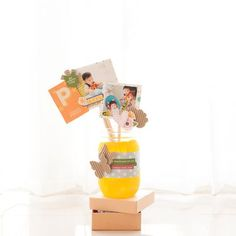Handmade for you Mason Jar by Eveylyn Pratiwi Yusuf featuring Jillibean Soup Sew Sweet Sunshine Soup and Happy Hues