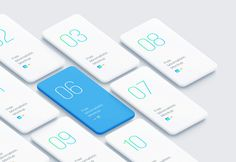 A set of minimalistic smartphone mockups for showcasing apps and mobile website designs. Features a canvas size of 6962 x changeable background, changeable device's color, drag and drop to create own composition. Available in Sketch and Photoshop format. Mobile Mockup, Mobile Ui, Mobile Wireframe, Wireframe Mockup, Ui Design Mobile, Phone Mockup, Free Iphone, Iphone Case, Easy
