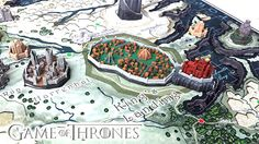 Rebuild Westeros piece by piece with this Game Of Thrones 3D Map Puzzle. Featuring all of the iconic locations such as King's Landing and Winterfell, this map...