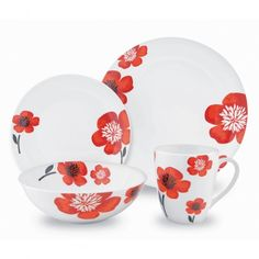 With Spring in the air, it's time to bring out the bright and cheery fun to your dining room table. Investing in a new dinnerware set will not only update the look, but it'll get … Mother And Father, Mothers, Kitchenware, Tableware, Little Cabin, Sassy Pants, Decor Ideas, Gift Ideas, Dinner Sets