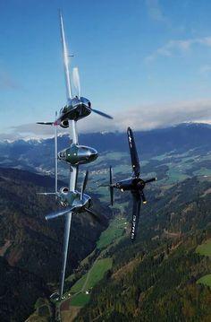 P-38 & Corsair