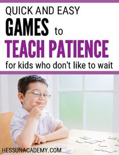 Besides being great for child development, there are many benefits of patience. But teaching kids patience is easier said than done. Learn how this mom of 7 teachers her kids patience. Tips And Tricks, How To Teach Kids, Help Kids, Parenting Humor, Parenting Advice, Teacher Appreciation, Easy Games For Kids, Kid Games, Age Appropriate Chores For Kids