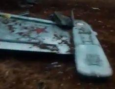 Опубликованы кадры с места падения сбитого в Сирии Су-25       Telegram-канал Directorate 4, который занимается мониторингом деятельности террористов, опубликовал кадры с места падения Су-25, сбитого в Сирии. По данным канала, это российский штурмовик. Пилот Су-25 катапультировался и погиб. По информации Reuters, он либо получил повреждения при приземлении, либо был убит.