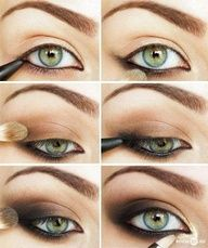 This looks like a really good itemgreen and grey eyes