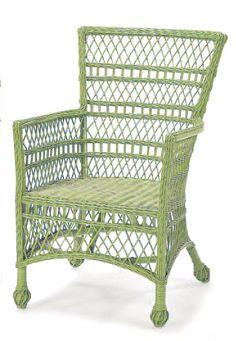 Wicker Veranda Chair
