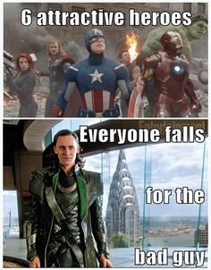 The god of mischief indeed... Don't get me wrong, I adore the Avengers... Loki's just a little higher on the list, that's all.