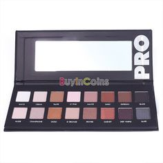 Hot 16 Colors Women Natural Luminous Waterproof Makeup Eyeshadow Palette Set 1# -- BuyinCoins.com