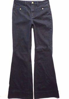 Pilcro size 32 x 35 Superscript High rise Dark Flare Womens jeans Anthropologie #Anthropologie #FlareWideLeg