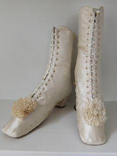 Wedding Boots, c. 1860