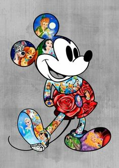 Mickey And Princesses Diamond Painting Set - DIY - . - Mickey And Princesses Diamond Painting Set – DIY – - Disney Mickey Mouse, Arte Do Mickey Mouse, Mickey Mouse Y Amigos, Retro Disney, Mickey Mouse Cartoon, Mickey Mouse And Friends, Disney Love, Minnie Mouse, Mickey Mouse Drawings