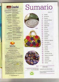 Revista Completa Arte Experto Croché