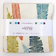 NOMAD Charm Pack  Urban Chiks for Moda  5 Inch by Jambearies