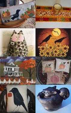 Delivering Autumn by arcadecache on Etsy--Pinned with TreasuryPin.com
