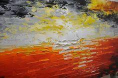 Abstractos pared pintura. pintura del paisaje por xiangwuchen