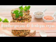 Hamburguesas de quinoa y lentejas rojas #146/ Quinoa and red lentil burger - YouTube