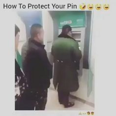 How To Keep People From Seeing Your Pin At The ATM...| #FunnyAF #ATM #LifeHacks #NoPeeking #FOH #Bruh #Smart #VideoOfTheDay #funny #lol #lmao #Dirty #Jokes #hilarious #comedy #Fails #nochill #lmfao #funnypictures #funnymemes #humor #meme #laugh #memes #wtf #bruh #funnyaf  #ctfu #funnypics #dead #hahaha #petty #fun #love #joke #toofunny #funnyvideos #vine #real #daily #savage #realtalk #omg #laughing #Pranks #funnypic #Viral #Trending #Popular #Internet