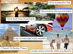 How best to plan your future? While there are many possible ways to do this, one creative method is to create a vision board