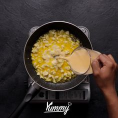 Salted Egg Noodle | Yummy - Temukan resep-resep menarik lainnya hanya di: Instagram: @Yummy.IDN Facebook: Yummy Indonesia