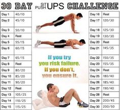 30-Day Sit-up / Push-up Challenge