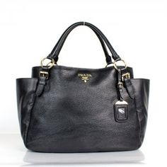 50fd72f91c5c £152.00 Sale Prada Top Handles Black Outlets Black Tote Bag