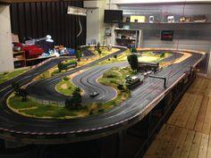 molettaring slot track slot car circuit