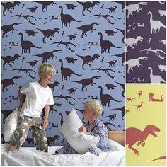 Dinosaurios para la habitación de los niños