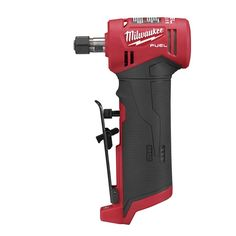 The MILWAUKEE FUEL Right Angle Die Grinder is the first cordless right angle die grinder that delivers the performance and size and spee professional service mechanics demand. The die grinder Milwaukee Tools, Milwaukee M12, Tool Website, Electronic Speed Control, Cordless Power Tools, Think Fast, Decoration Originale, Angle Grinder, Tools And Equipment