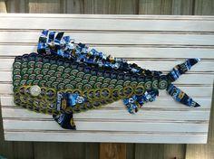 Dolphin ~ Bottle cap art