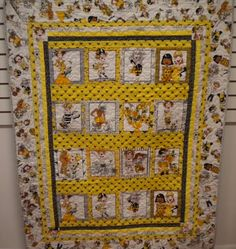 Bee Happy Pattern by I Love Sewing. Fabric is Bee Happy by Loralie Designs