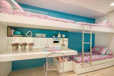 Twin Girl Bedrooms, Girls Bedroom, Small Room Bedroom, Home Decor Bedroom, Teen Bedding Sets, Bunk Bed Rooms, Cool Kids Rooms, Girl Bedroom Designs, Room Planning