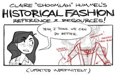 "Claire ""Shoomlah"" Hummel's Historical Fashion References and Resources!"