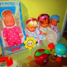 Drowsy dolls and Fisher Price vintage